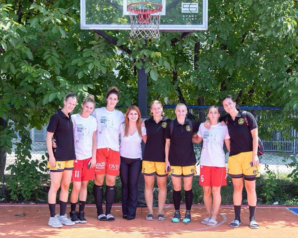 Performanță | CSM Satu Mare, vicecampioană națională la baschet 3×3